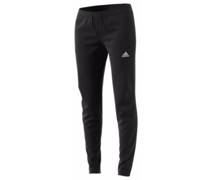 adidas Womens Tiro 17 Training Pant - Black/Black