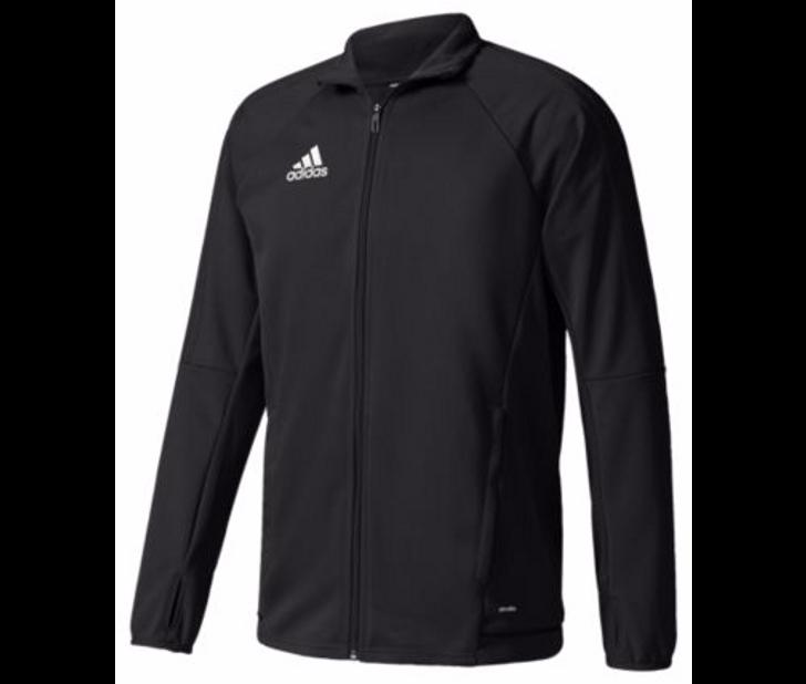 adidas Youth Tiro 17 Training Jacket - Black/Black