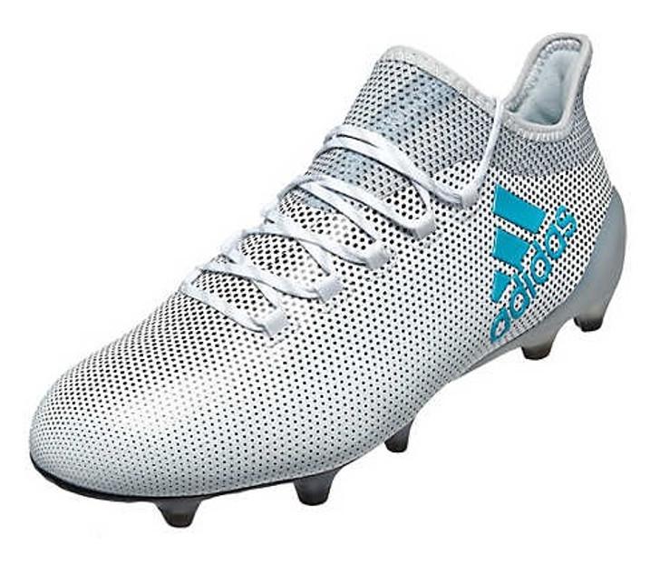 adidas X 17.1 FG White/Energy Blue SD (010620)