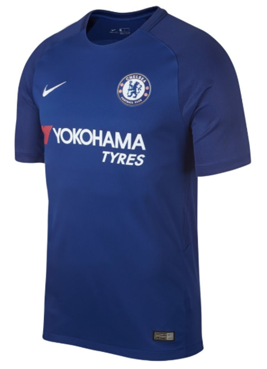 Nike Chelsea FC 2017-2018 Home Jersey - Blue SD (122719)
