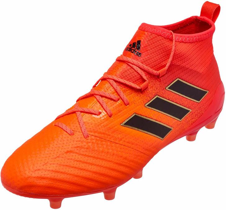 Adidas Ace 17.1 FG Solar OrangeCore BlackSolar Red (030319)