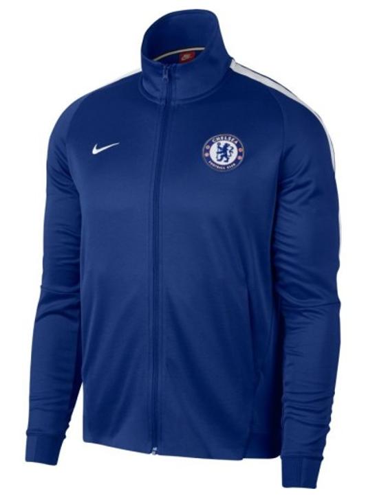 Nike Chelsea 2017-2018 Franchise Jacket - Blue RC (012620)
