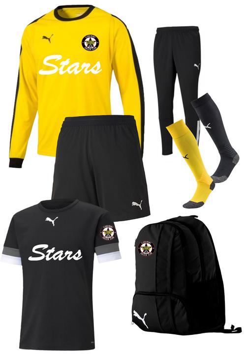 Claremont Stars Adult Goal Keeper Kit - Puma Liga GK Jersey