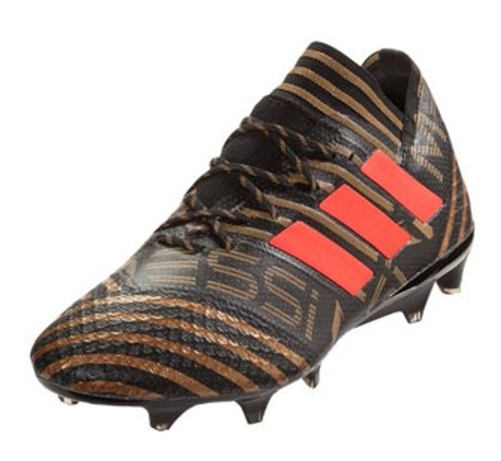 Adidas Nemeziz Messi 17.1 FG - Core Black/Solar Red/Tectile Gold Metallic RC (06819)