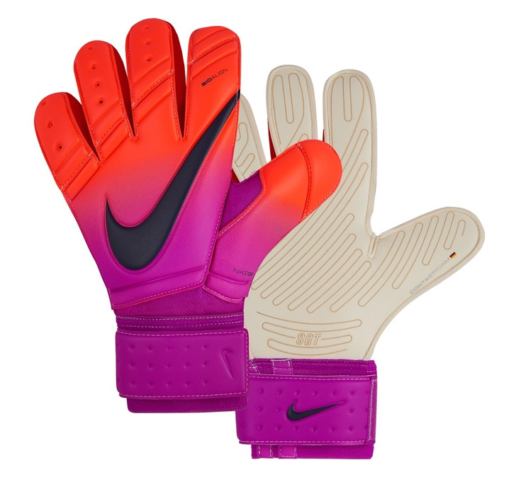 Nike GK Premier SGT - Total Crimson/Hyper Grape/Obsidian SD (051619)