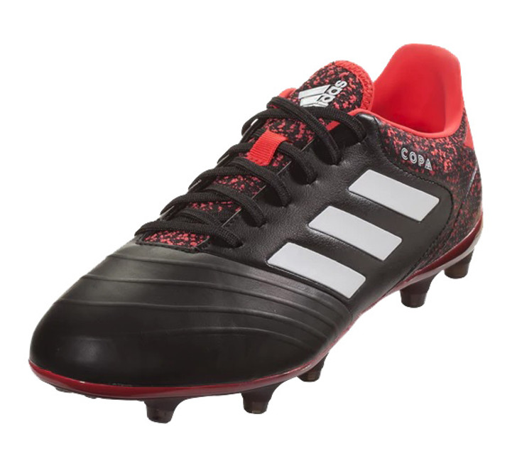 Adidas Copa 18.2 FG - Core Black/White/Real Coral (06819)