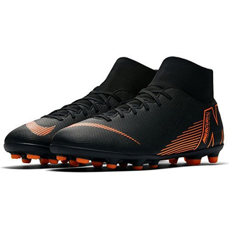 info for f6a7f 13d69 Nike Superfly 6 Club MG - Black/Total Orange/White (3218)