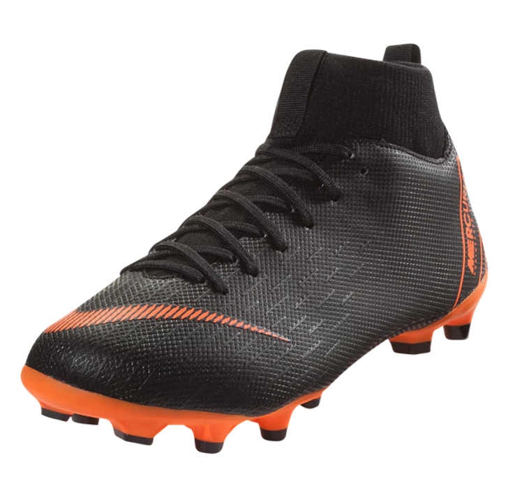 detailed look d28db a50ad Nike Jr. Superfly 6 Academy GS MG - Black/Total Orange/White (3318)