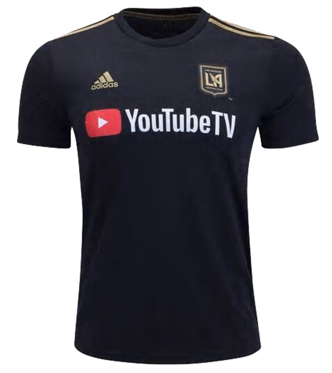 Adidas LAFC Home Jersey 19/20 - Black/Gold (122719)
