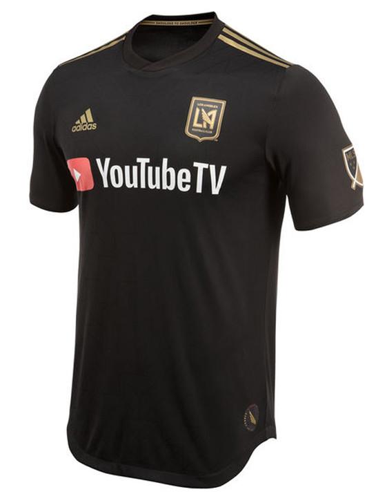 Adidas LA FC Authentic Jersey - Black/Gold (3918)