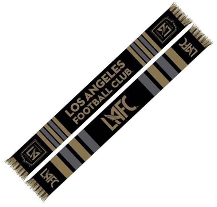 LAFC Center Logo Scarf - Black/Gold (11819)
