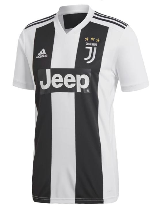 Adidas Juventus Home Jersey 18/19 - White/Black (022419)