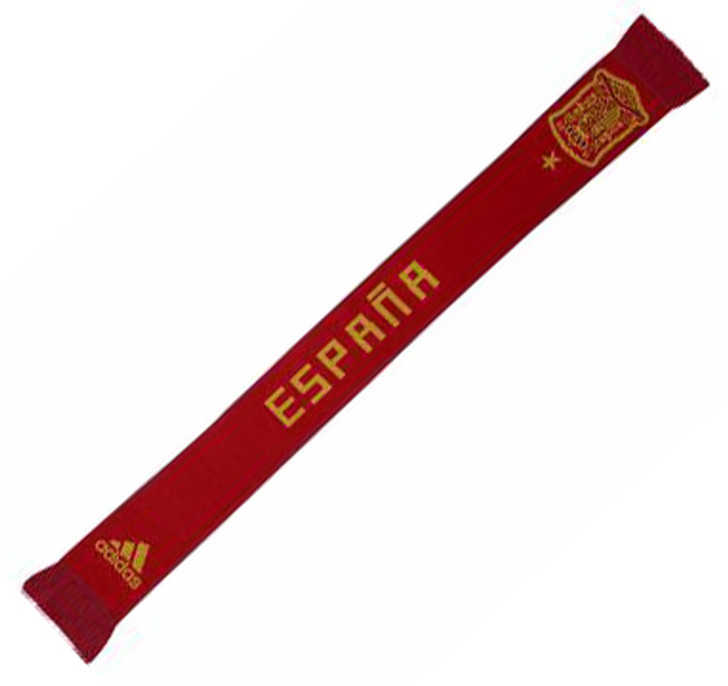 Adidas Spain 2018 Home Scarf - Red/Gold (52818)