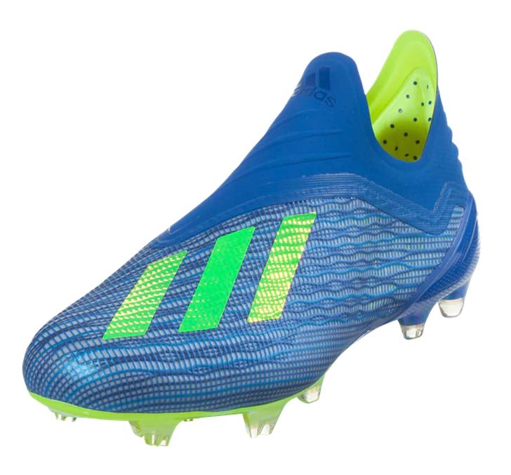 Adidas X 18+ FG - Football Blue/Solar Yellow/Core Black (1519)
