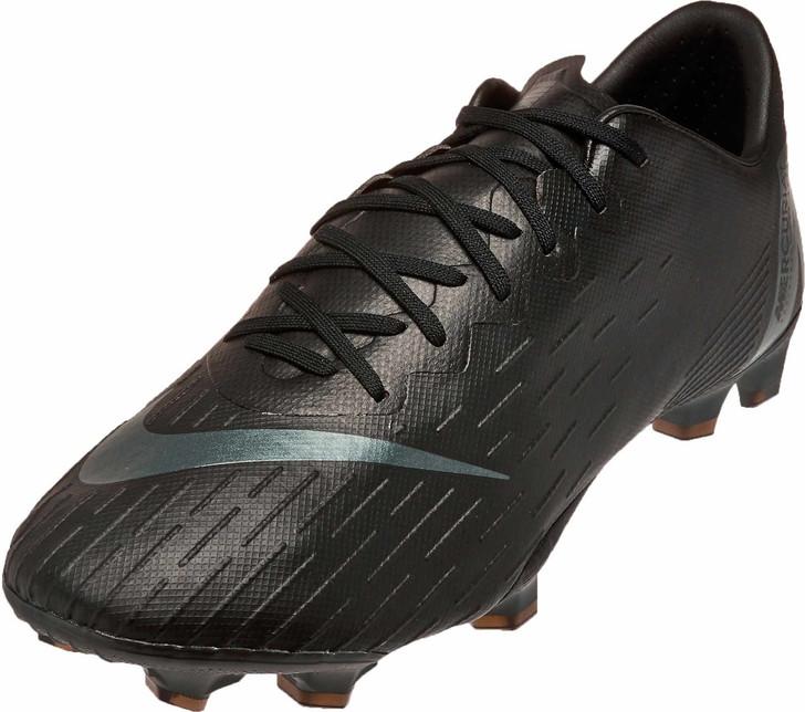 Nike Vapor 12 Pro FG - Black/Black