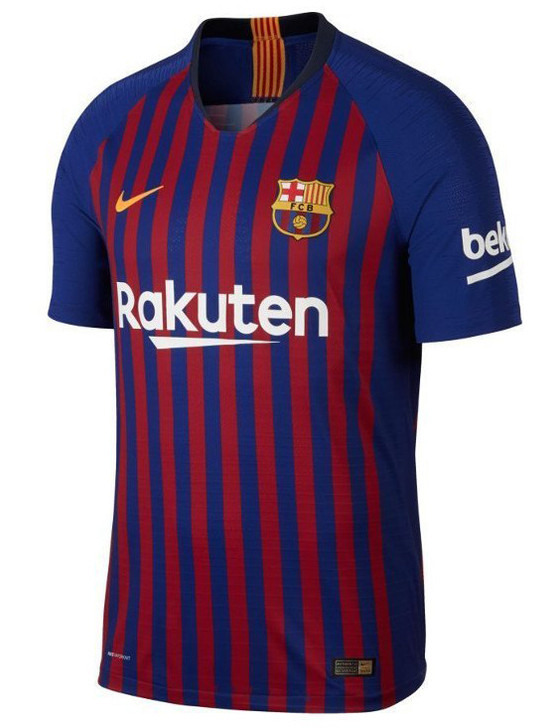 pretty nice c7270 c1a60 Nike Barcelona 18/19 Authentic Home Jersey - Deep Royal Blue/University  Gold (032219)