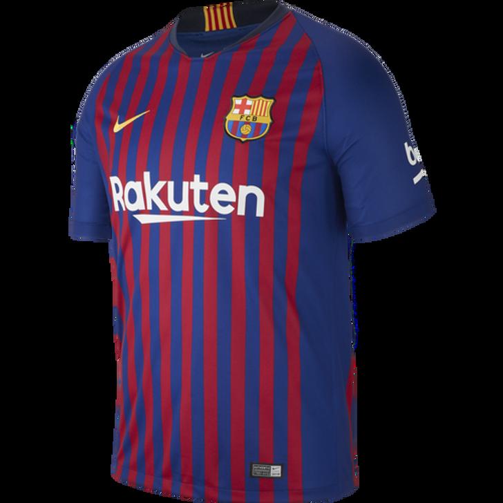 Nike Barcelona 18/19 Home Jersey -Deep Royal Blue/University Gold (032219)