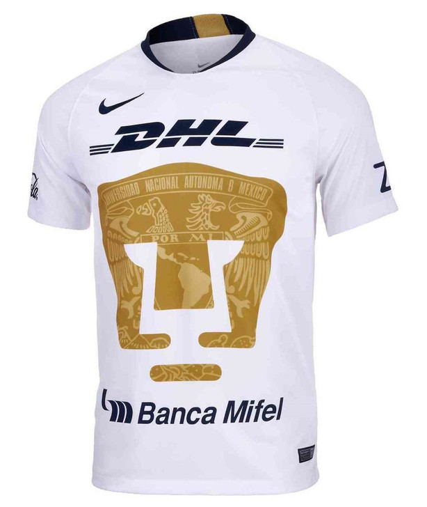Nike Pumas 18/19 Home Jersey - White/Truly Gold/Obsidian RC (020719)