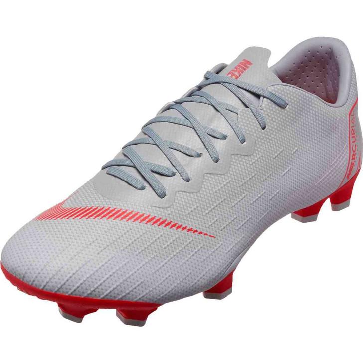 Nike Vapor 12 Pro FG - Wolf Grey/Light Crimson
