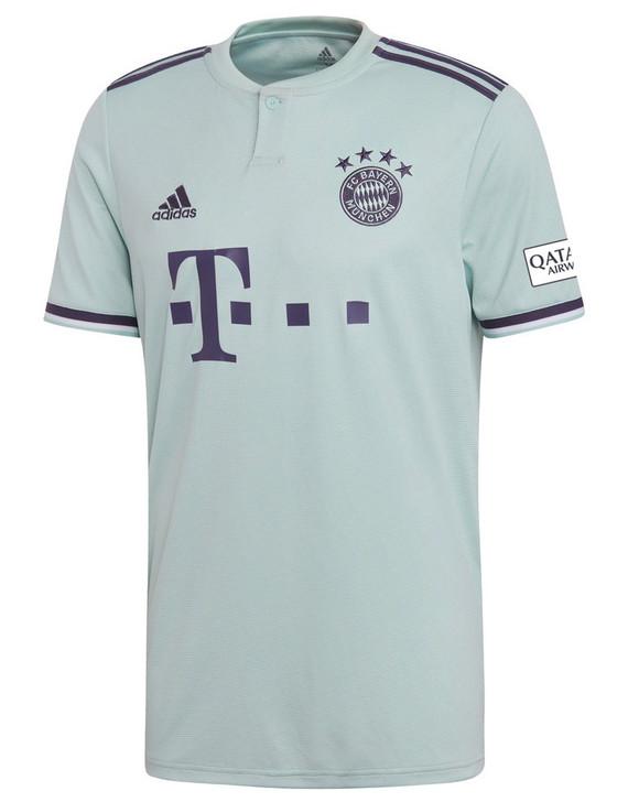 Adidas FC Bayern Munchen 18/19 Away Jersey - Green/Blue