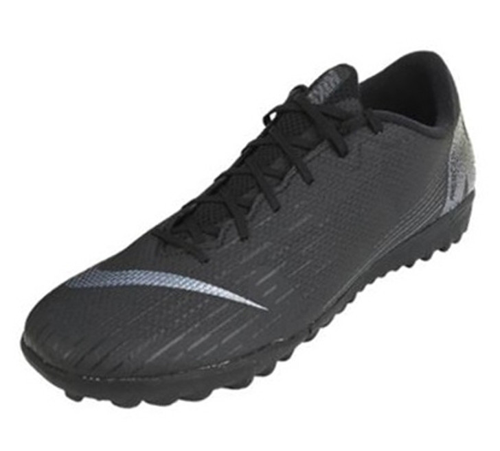 4bf15649253 Nike Mercurial Vapor X 12 Academy TF - Black Black (052519) - ohp soccer