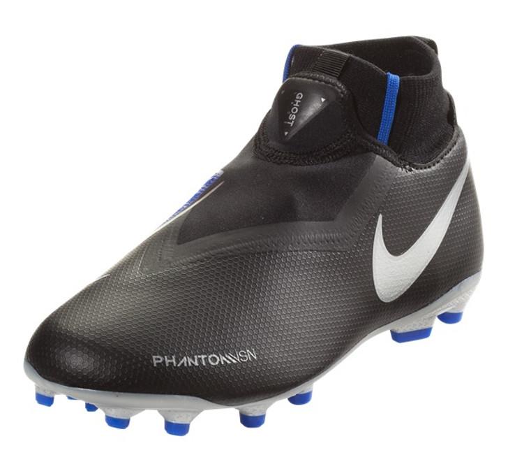 Nike Junior Phantom VSN Academy Df FG/MG - Black/Metallic Silver RC (040919)
