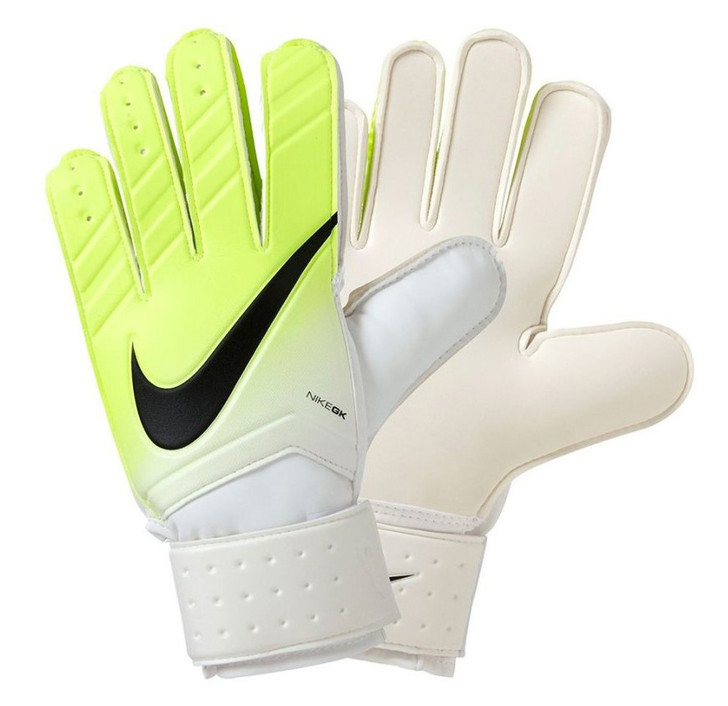 Nike GK Match Gloves - Bright White/Volt/Black- SD (121920)