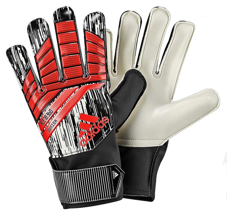 Adidas Predator Junior Manuel Neuer Goalkeeper Gloves - Solar Red/Black (10918)