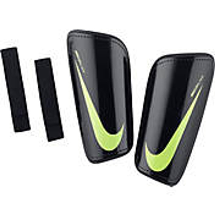 Nike Mercurial Hard Shell Shin Guards -Black/Volt (101118)
