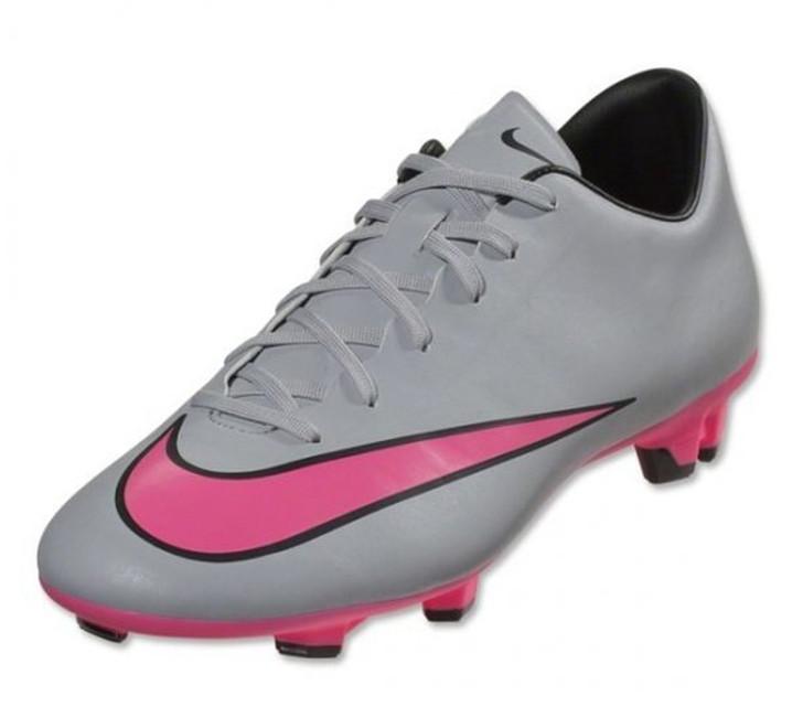 Nike Mercurial Victory V FG - Wolf Grey/Black/Hyper Pink SD (041221)