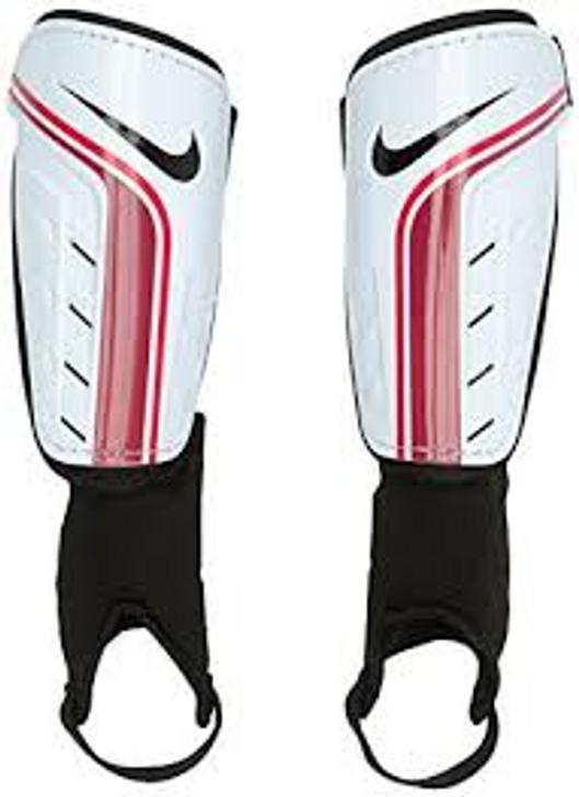 Nike Shield Shin Guard - White/Red (122819)