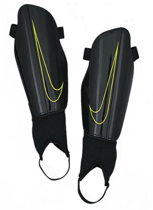 Nike Charge 2.0 Shinguards Unisex - Black/Volt (122320)