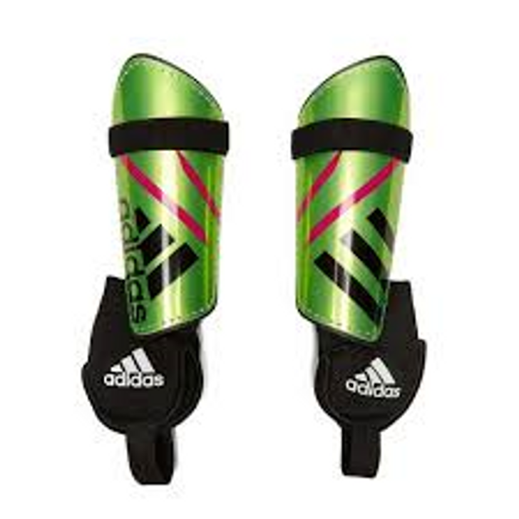 Adidas Ghost Replique Youth Shinguard- Solar Green/ Black White (101518)
