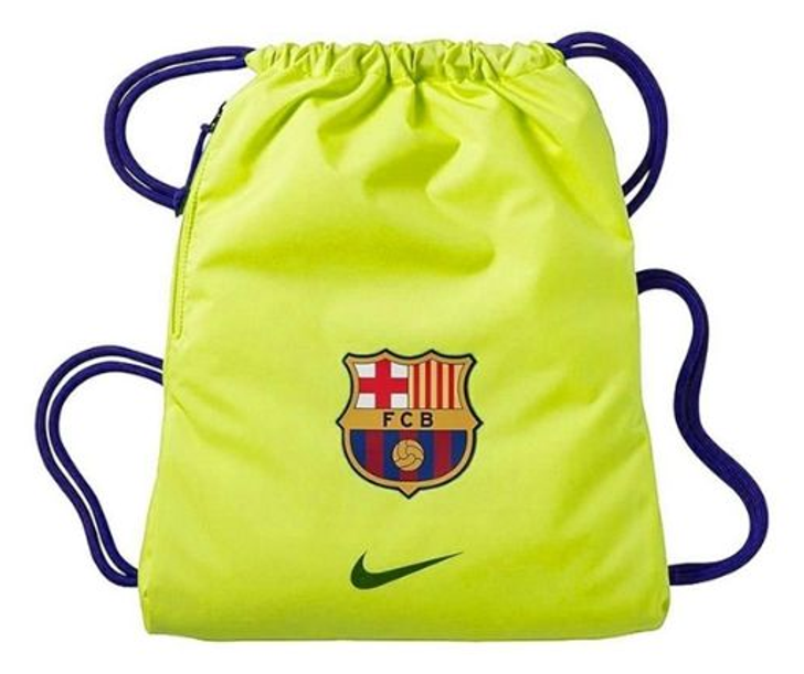 Nike Stadium FC Barcelona Gym Sack -Volt/Blue (121919)