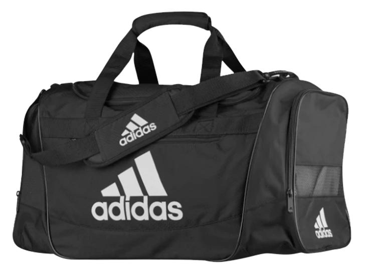Adidas Defender III Medium Duffel Bag - Black/White (101718)