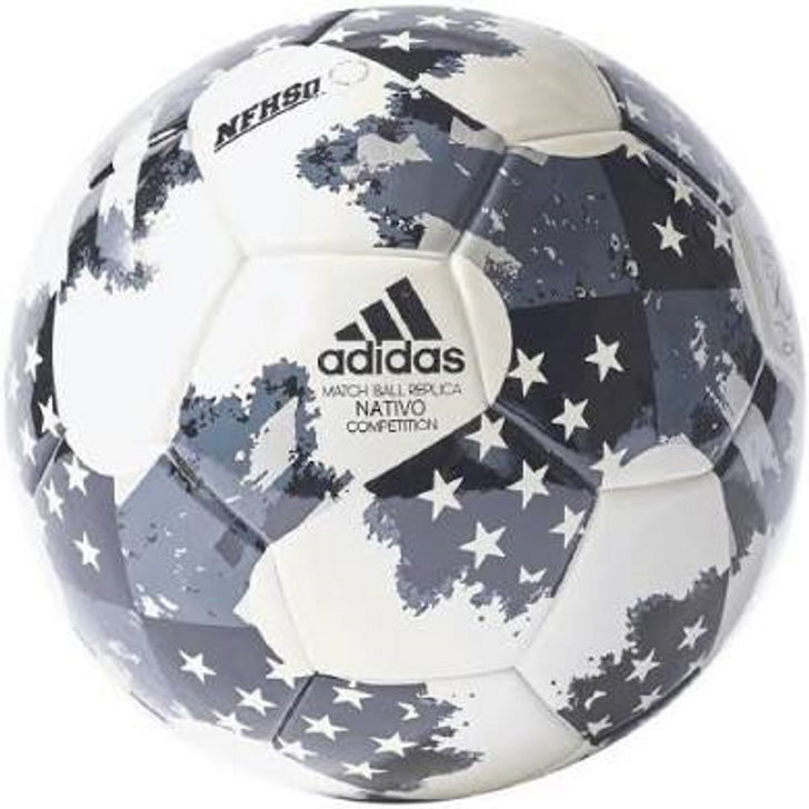 Adidas 17 NFHS MLS Top Traning Soccer Ball -White/Black