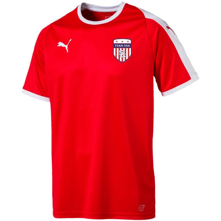 Team USA Away Jersey - Red/White