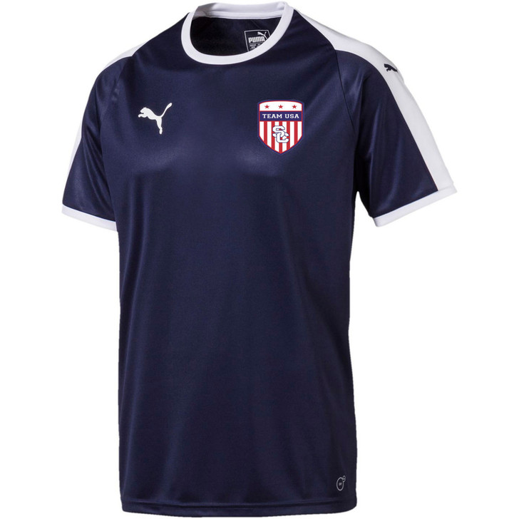 Team USA Home Jersey Youth - Navy/White