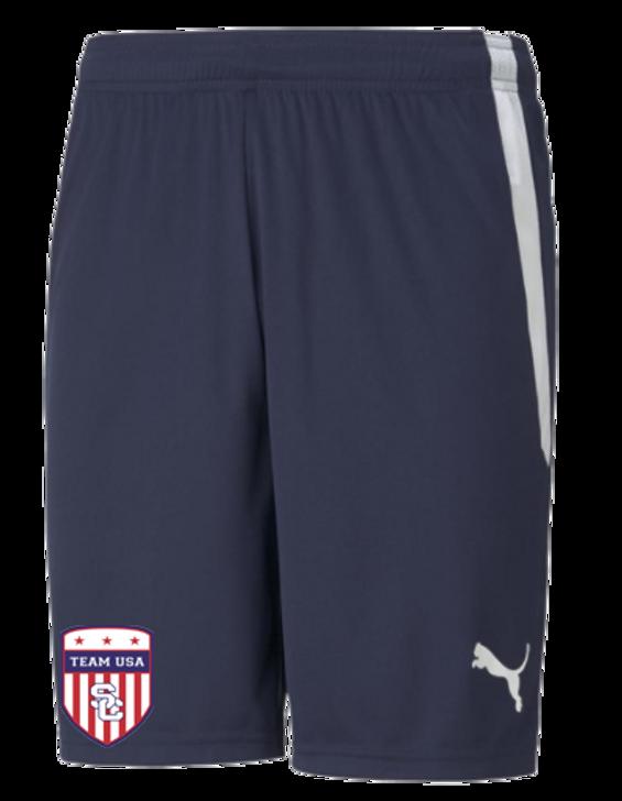 Team USA Youth Short - Puma Team Liga 25