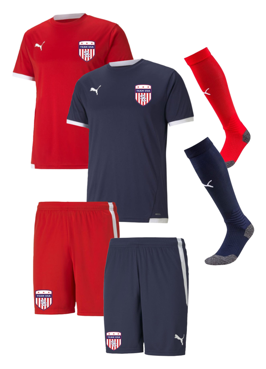 Team USA Youth Kit - Puma Team Liga 25
