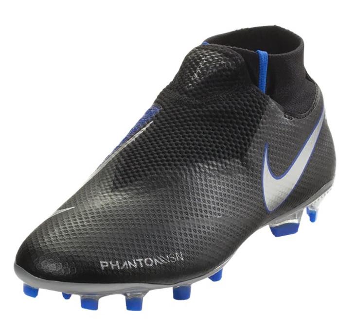 ec0167bc953 Nike Phantom Vision Pro DF FG - Black Metallic Silver Racer Blue (040719) -  ohp soccer
