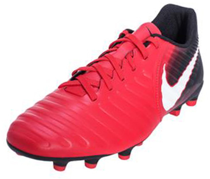 outlet store fe7f7 06c3d Nike Tiempo Rio IV FG - University Red White Black (031419) - ohp soccer