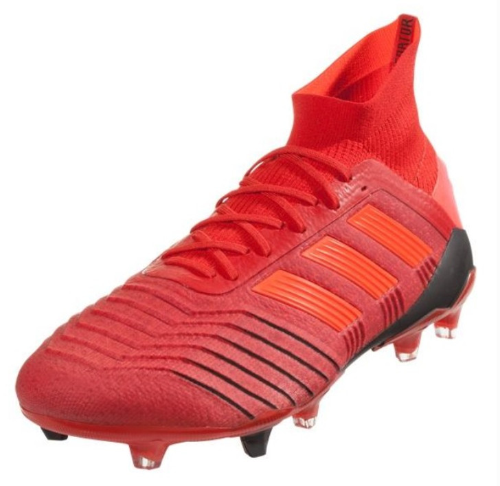 Adidas Predator 19.1 FG - Active Red/Solar Red/Core Black  (111918)