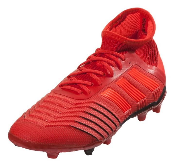 Adidas Predator 19.1 FG JuniorACTRED/SOLRED/CBLACK