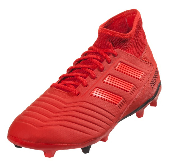 8191d0f1be9 Adidas Predator 19.3 FG - Active Red Solar Red Core Black RC (030819) - ohp  soccer
