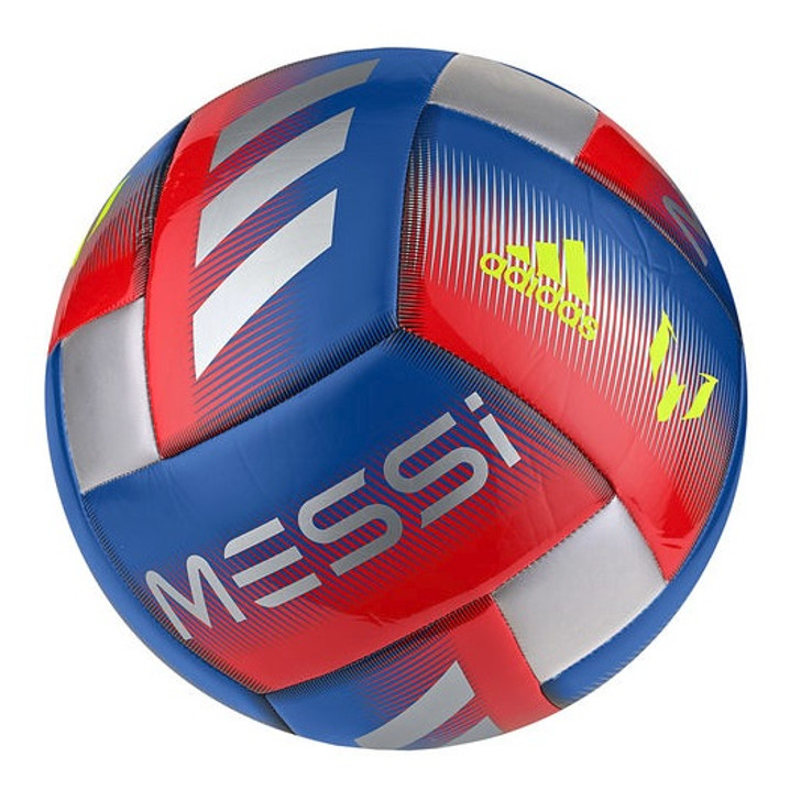 Adidas Messi CPT Soccer Ball - Blue/Red/Silver (121518)