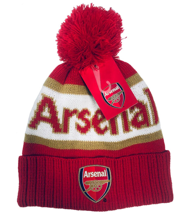 Arsenal Football Club Beanie - Red/White/Gold (121518)