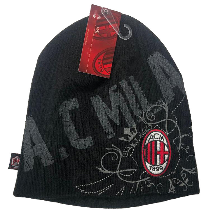 AC Milan Beanie - Black/Red (121518) SD