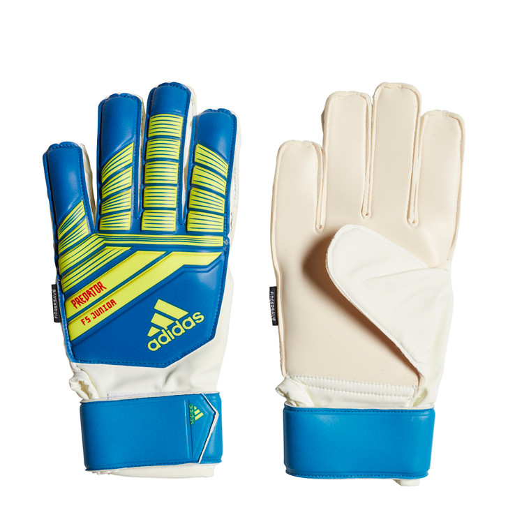 Adidas Predator Top Training Junior GK Gloves - Football Blue/Bold Blue/Solar Yellow  (122818)