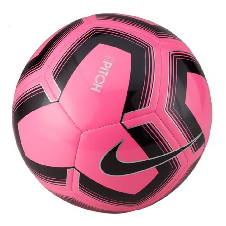 Nike Pitch Training Soccer Ball - Pink Blast/Black- (121620)